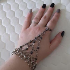 Jewelry - Chain mail hand bracelet